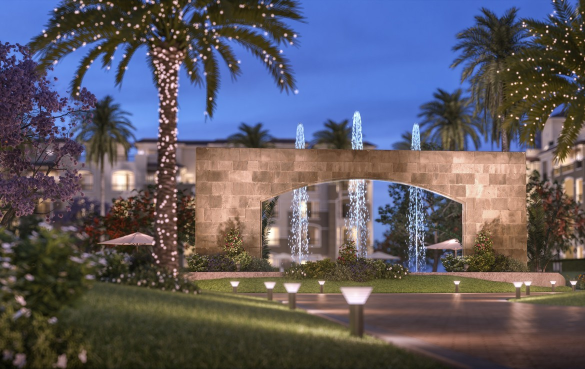 Stone Residence ring-road Kattameya new Cairo.